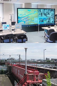 Iron Tide Gate Surveillance System & Camera System to Collect Disaster Prevention Information